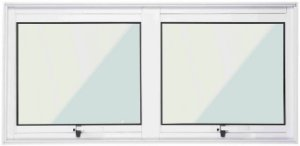 Vitro Maxim-ar/Projetante 2s - Sem grade - Branco
