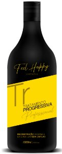 Tratamento Anti Frizz Feel Happy 1000 ml