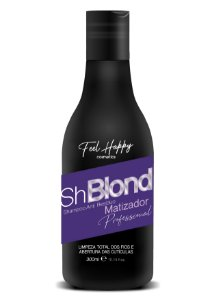Shampoo Anti Residuos Orgânico Matizador 300 ml Feel Happy
