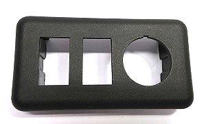 Moldura Interruptor Vidro Elétrico F1000 F4000 Duplo