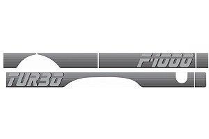 Faixa Lateral F1000 90/92 Turbo Prata Decal