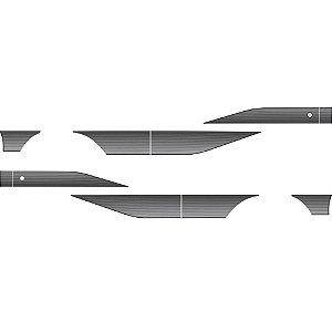 Faixa Lateral F4000 /92 Prata Decal