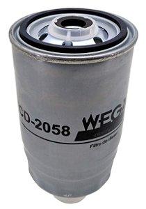 Filtro Combustível F1000 F4000 F250 Agrale Wega