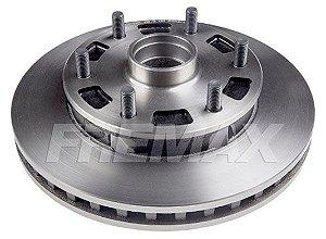 Disco Freio Dianteiro S10 95/02 6 Furos c/ Cubo Fremax