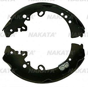 Jogo Sapatas Freio Traseiro Toyota Hilux 05/12 Nakata