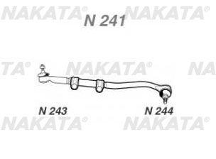 Barra Direção Curta F1000 72/92 Nakata