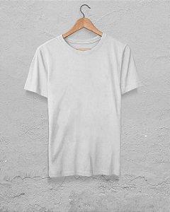 20 Camisetas Branca - Algodão