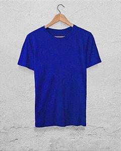 20 Camisetas Azul Royal - Algodão