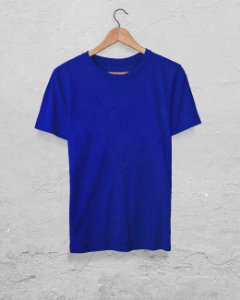 40 Camisetas Azul Royal - Algodão