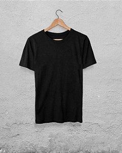 20 Camisetas Preta - Algodão