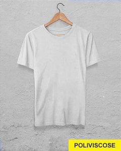40 Camisetas Branca - Poliviscose