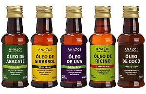 Kit óleos Cabelo e Corpo Cabelos na Transição ou com Queda Anazoe