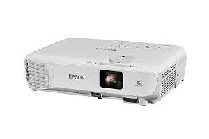 Projetor Epson PowerLite X05+ 3LCD 3300 Lumens XGA (1024x768), Distancia Projecao (0.89-10.95m),VGA/HDMI/USB/RCA, Lampada 210W