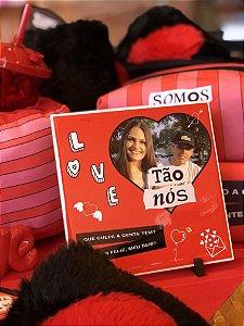 Azulejo Personalizado Aha dia dos Namorados Tão Nós