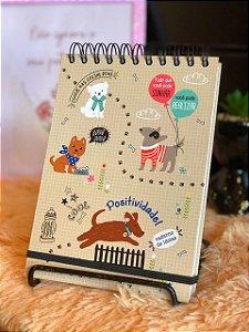 Caderno ideias Cachorro Amigo Fina Ideia 145x205mm