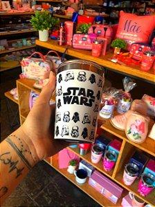 Copo viagem snap 300ml Stormtroopers e Vader
