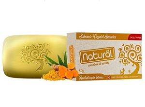 Sabonete Natural Cúrcuma 80g Orgânico Natural