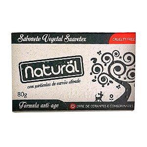 Sabonete Natural Carvão Ativado 80g Orgânico Natural