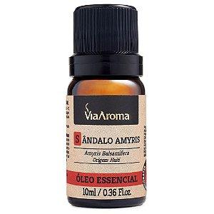 Óleo Essencial Sandalo Amyris 10ml Via Aroma