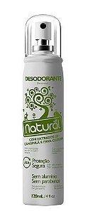 Desodorante Unissex de Pepino e Chá Verde 120ml