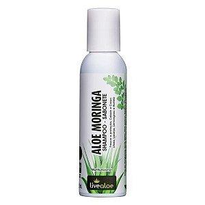 Aloe Moringa Shampoo Sabonete 120ml Livealoe