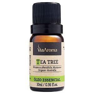 Óleo Essencial Tea Tree/Melaleuca 10ml Via Aroma