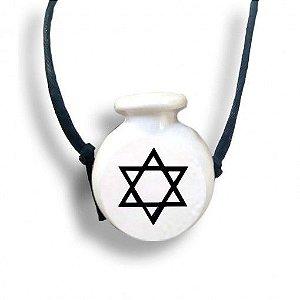 Aromatizador Pessoal Símbolo Sagrado Estrela De Davi Ortega