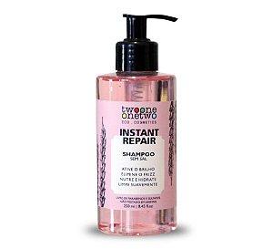 Shampoo Instant Repair Natural Vegano Jojoba e Coco 250ml