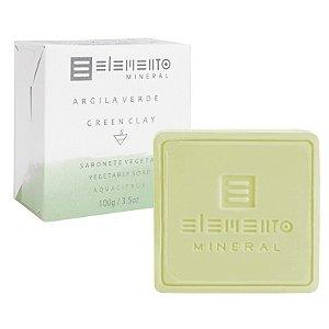 Sabonete Argila Verde 100g Elemento Mineral