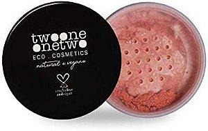 Blush Facial Leite de Coco Natural Vegano 9g Peach
