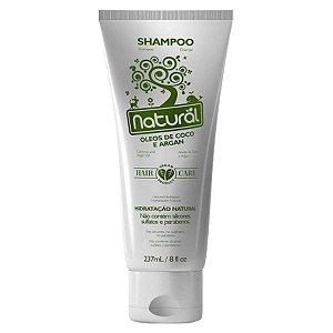 Shampoo Natural Coco e Argan 237ml - Orgânico Natural
