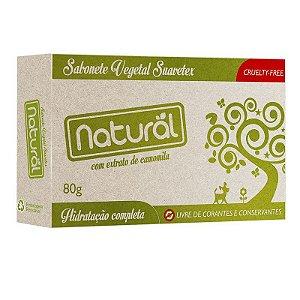 Sabonete Natural Camomila Orgânico Natural 80g