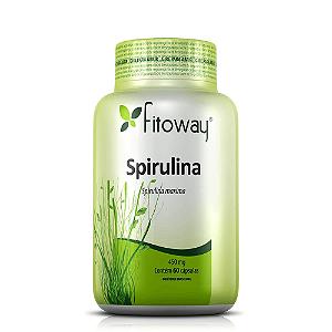 Spirulina Fitoway 450mg - 60 Cápsulas