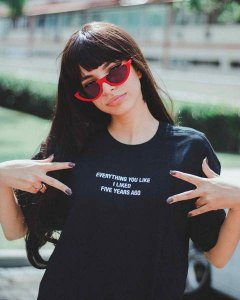 Camiseta EVERYTHING YOU LIKE