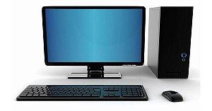 COMPUTADOR COM MONITOR 18,5