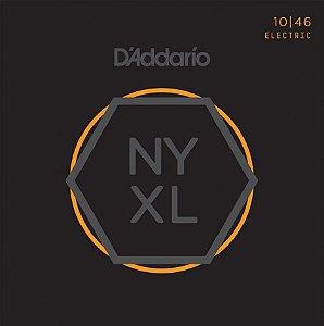 Encordoamento para guitarra D'ADDARIO NYXL 10/46 010