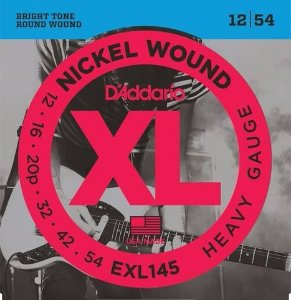 Encordoamento para guitarra D'Addario EXL 145 12/54