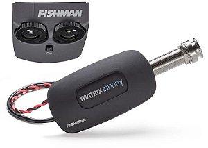 Pré Amplificador Fishman Matrix Infinity PRO-MAN-NFV Ativo Violão