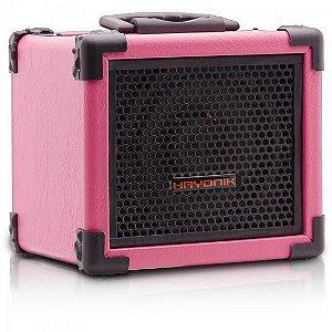 Caixa Amplificada Iron 80 Rosa