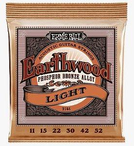 Encordoamento para violão aço Ernie Ball Earthwood 0.11