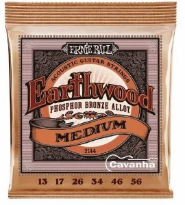 Encordoamento para violão 0.13 Ernie Ball Earthwood Phosphor bronze Alloy