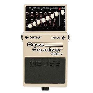 Pedal Boss Bass  Equalizer GWB-7