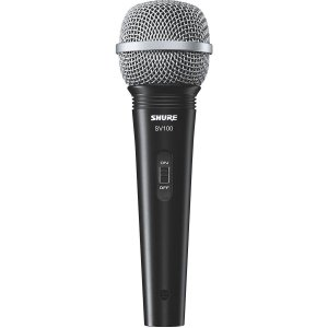 Microfone Shure Dinâmico Multi- Purpose SV 100