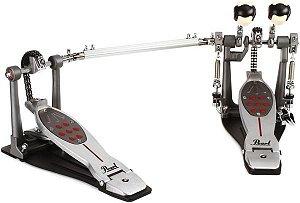 Pedal Duplo Pearl Eliminator Redline P 2052 C