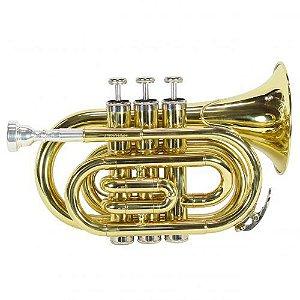 Trompete Jahnke Pocket  JTR002 Laqueado