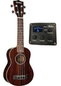 Ukulele Shelby SopraSU 21RE