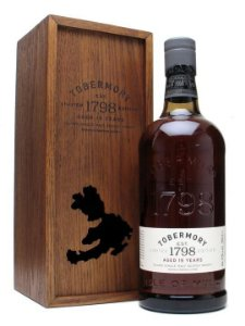 Whisky Tobermory 15 Year Old Single Malt Scotch Whisky - 700ml