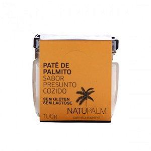 Patê de Palmito sabor Presunto Cozido NatuPalm 100g