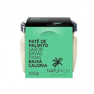 Patê de Palmito sabor Ervas Finas NatuPalm 100g