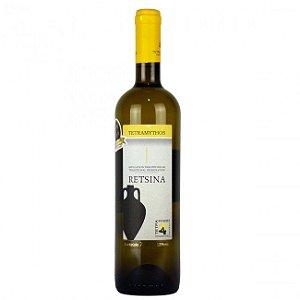 Vinho Branco Tetramitós Retsina 750 ml